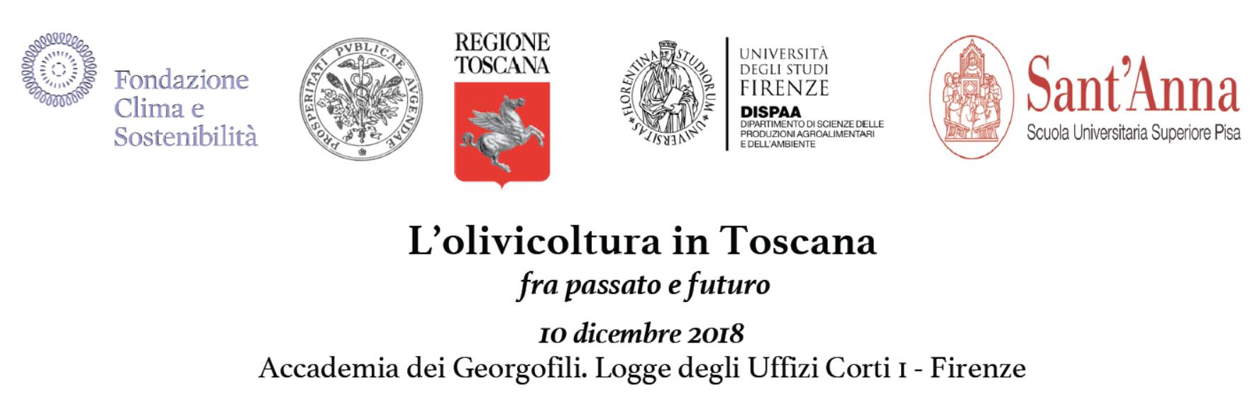 """Workshop """"L'olivicoltura in Toscana fra passato e futuro"""" (10 dicembre)"""